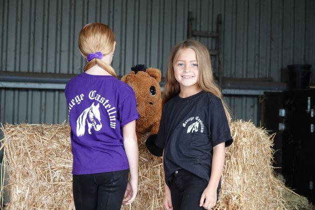 T- shirt kids S Zwart
